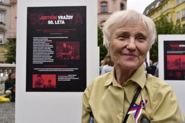 Oběti komunistické totality přišlo 27. června 2018 uctít několik stovek lidí na náměstí Svobody v Brně. Zároveň vyjadřují nesouhlas s podílem KSČM na moci v Česku. Akce se zúčastnila i Zdena Mašínová.
