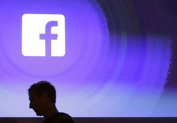 Logo americké internetové společnosti Facebook.