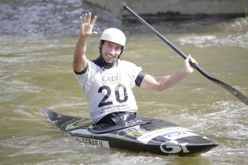 Kajakář Vítězslav Gebas zakončil 8. září 2018 Světový pohár vodních slalomářů ve španělském Seu d'Urgell sedmým místem.