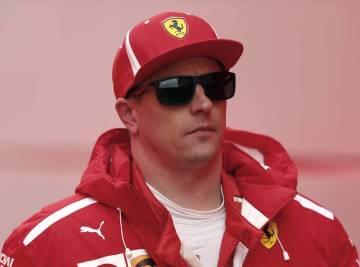Finský pilot formule 1 Kimi Räikkönen ze stáje Ferrari.