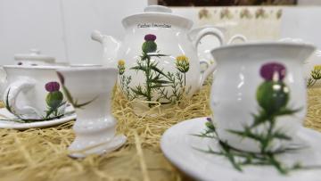 Při Dnech otevřených ateliérů na Vysočině si 6. října 2018 mohli návštěvníci keramické dílny v Nové Říši prohlédnout novoříšskou keramiku. Od běžné produkce ji odlišuje věrohodné vyobrazení rostlin, které tvoří herbář z 18. století uložený v knihovně kláštera v Nové Říši na Jihlavsku. Originální novoříšskou keramiku zdobí už 45 rostlinných motivů.