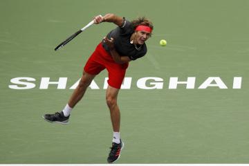 Německý tenista Alexander Zverev.