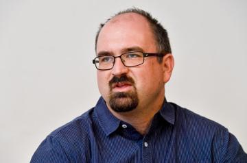 Vedoucí oddělení výzkumů, projektů a komunikace Agentury pro sociální začleňování Roman Matoušek.