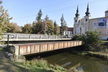 Doprava v Brně je kvůli uzavírce Zábrdovické ulice, Zábrdovického mostu (na snímku z 22. října 2018) a části Cejlu ve východní části města komplikovanější než obvykle.