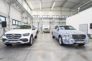 Společnost MBtech Bohemia, součást francouzské skupiny AKKA Technologies zaměřené hlavně na vývoj automobilových dílů i elektroniky, otevřela 24. října 2018 v Plzni novou halu na výrobu přípravků a testování vozidel. Testované vozy, které nejsou ještě ve výrobě, jsou důkladně maskovány (vpravo). Vlevo je skutečná podoba auta.