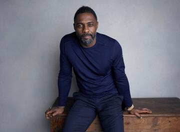 Britský herec Idris Elba na snímku z 21.  ledna 2018.