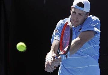 Americký tenista John Isner.