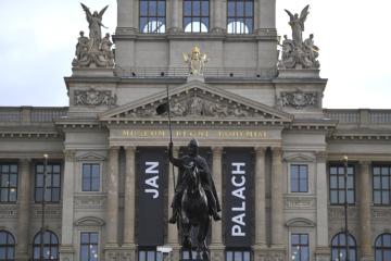 Národní muzeum v Praze 16. ledna 2019 připomnělo 50. výročí upálení Jana Palacha.