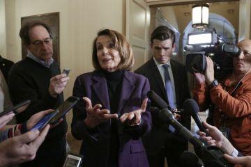 Demokratická předsedkyně Sněmovny reprezentantů Nancy Pelosiová.