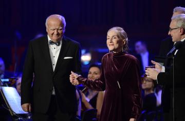 Ceny klasické hudby Classic Prague Awards se udělovaly 19. ledna 2019 v Praze. Ocenění za celoživotní přínos obdrželi operní pěvkyně Soňa Červená a sbormistr Josef Pančík (vlevo).