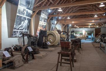 Muzeum cukru, lihu a řepařství v Dobrovici na Mladoboleslavsku (na snímku z 31. ledna 2019).
