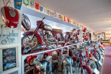 Muzeum motocyklů Jawa v Rabakově na Mladoboleslavsku na snímku z 5. února 2019.