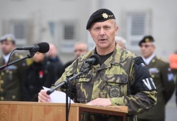 Miroslav Murček (na snímku z 11. listopadu 2015) nahradí ve funkci náčelníka Vojenské policie Pavla Kříže, kterého odvolal ministr obrany Lubomír Metnar.