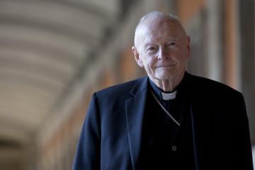 Americký kardinál Theodor McCarrick na snímku z 13. února 2013.