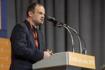 Místopředseda ČSSD Michal Šmarda (na archivním snímku z 2. března 2019).