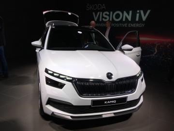 Škoda Auto představila 4. března 2019 v předvečer mezinárodního autosalonu v Ženevě městské SUV Kamiq.