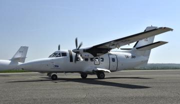 Společnost Aircraft Industries představila 15. dubna 2019 v Kunovicích na Uherskohradišťsku inovovaný letoun L410 NG.