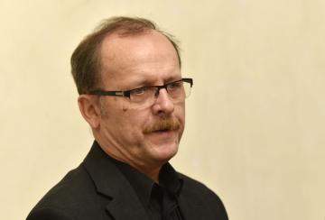 Ředitel Muzea umění Olomouc Michal Soukup (na snímku z 25. října 2018).