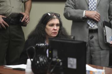 Obviněná Louise Turpinová u soudu.