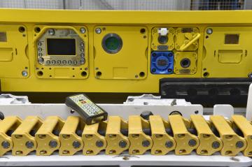 Novou generaci důlních kombajnů vyvinula společnost T Machinery z Ratíškovic na Hodonínsku (na snímku ze 17. dubna 2019).