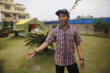 Nepálský Šerpa Kami Rita.