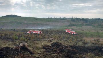 Škodu za několik milionů korun způsobil rozsáhlý požár ve vojenském prostoru Libavá.