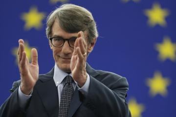 Nový předseda Evropského parlamentu David-Maria Sassoli.