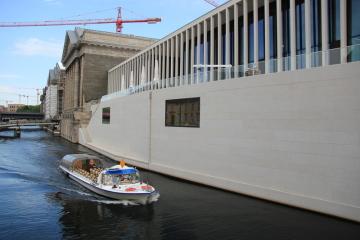 Na berlínském Ostrově muzeí slavnostně otevřeli Galerii Jamese Simona.