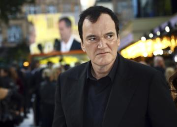 Americký režisér Quentin Tarantino na britské premiéře filmu Tenkrát v Hollywoodu v Londýně 30. července 2019.