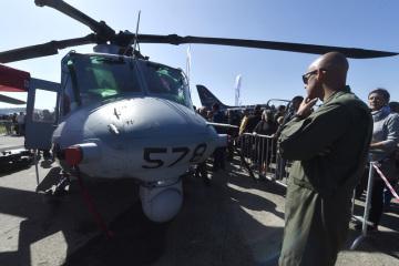 Na letišti v Mošnově na Novojičínsku začaly 21. září 2019 dvoudenní Dny NATO a Dny Vzdušných sil Armády ČR, které jsou největší bezpečnostní přehlídkou v Evropě. Na snímku je vrtulník Bell UH-1Y Venom americké armády.