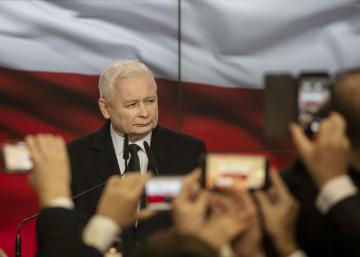 Předseda národně-konzervativní strany Právo a spravedlnost (PiS) Jaroslaw Kaczyński