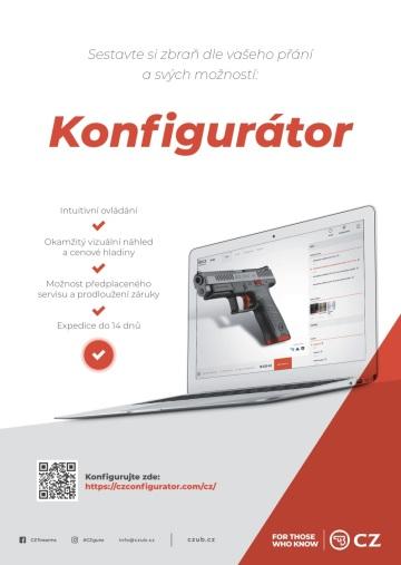 Česká zbrojovka uvedla na trh v České republice revoluční nástroj – konfigurátor civilních zbraní.