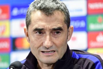 Trenér Barcelony Ernesto Valverde (na snímku z 22. října 2019).