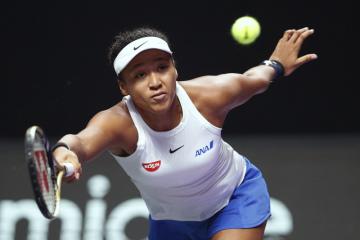 Japonská tenistka Naomi Ósakaová na Turnaji mistryň.
