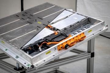 Nový systém baterií pro elektromobily Volkswagen.