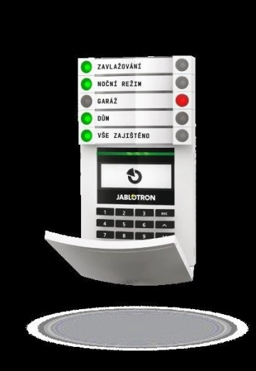 Jeden z produktů JABLOTRONU, jedinečný alarmový systém, který má výhodu ve své škálovatelné modularitě
