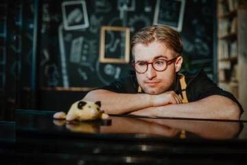 Český písničkář Michal Horák (na snímku z 19. srpna 2019).