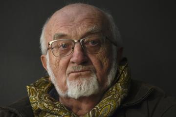 Spisovatel Vladimír Körner.