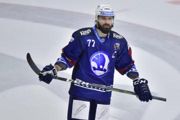 Hokejista Milan Gulaš z Plzně.