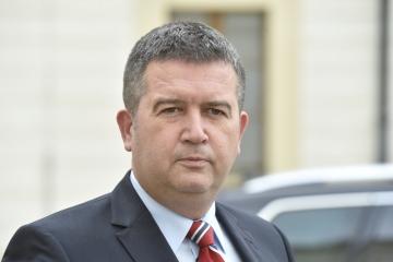 Místopředseda vláda a ministr vnitra Jan Hamáček (ČSSD).