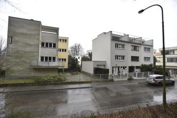 Brněnská kolonie Nový dům (na snímku z 2. února 2018).