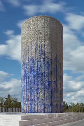Na výduch pražského tunelu Blanka nedaleko Stromovky umístil své umělecké dílo česko-argentinský umělec Federico Díaz. Betonový tubus obložil 176 umělecky opracovanými díly, které vytvořil pomocí speciálního robota.