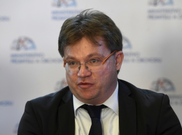 Náměstek ministra průmyslu a obchodu Petr Očko