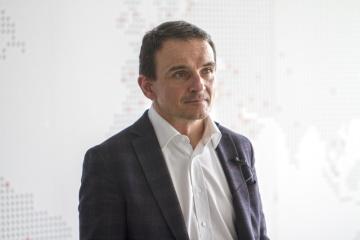 Výkonný ředitel Linetu Tomáš Kolář.