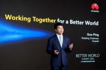 Guo Ping hovoří o komerčním úspěchu 5G na Better World Summit 2020