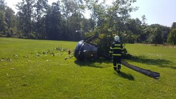 Vrtulník havaroval 13. srpna 2020 při vzletu v zámeckém parku v Žamberku na Orlickoústecku. Cestovali v něm čtyři lidé, z toho dva nezletilí. Jeden člověk je lehce zraněný.