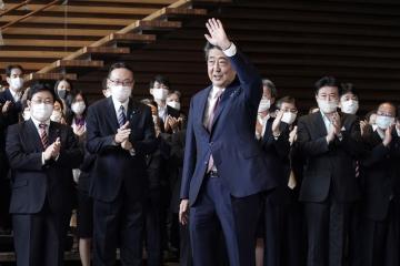 Japonský premiér Šinzó Abe končí ve funkci (na snímku z 16. září 2020).