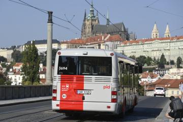 Dopravní podnik hlavního města Prahy představil 16. září 2020 prototyp autobusu SOR NB12 v nově schválené vizuální podobě systému Pražské integrované dopravy (PID).