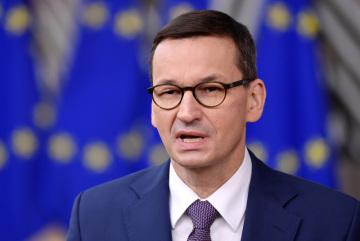 Polský premiér Mateusz Morawiecki, 10. prosince 2020.