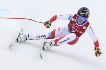 Švýcarská lyžařka Lara Gutová-Behramiová